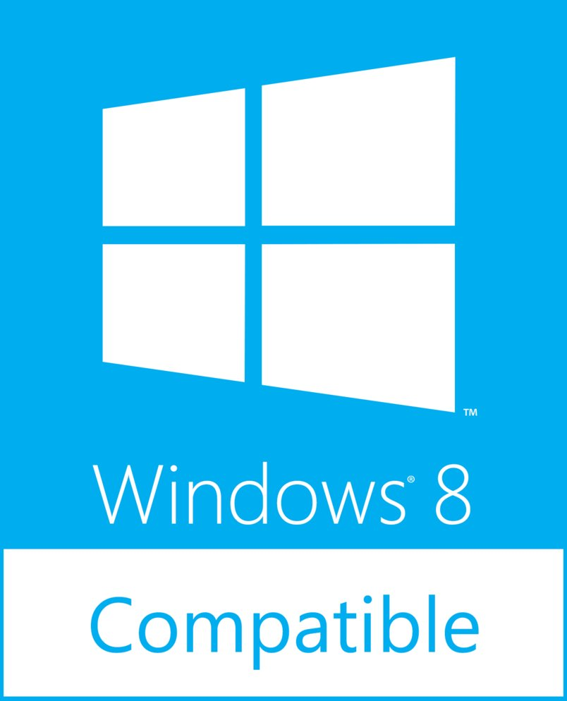 Compatible with Windows 8